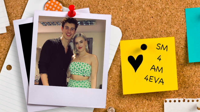 Anne-Marie and Shawn Mendes Bromance