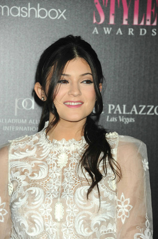 Kylie Jenner before getting veneers, in 2011