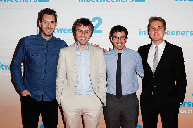 The Inbetweeners starred Simon Bird, James Buckley, Joe Thomas and Blake Harriosn