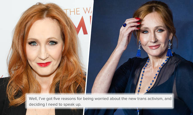 JK Rowling pens letter explaining her views on trans activism