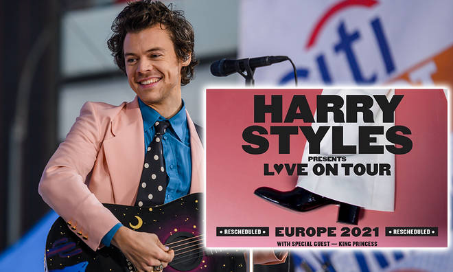 Harry Styles revealed his rescheduled 2021 tour dates