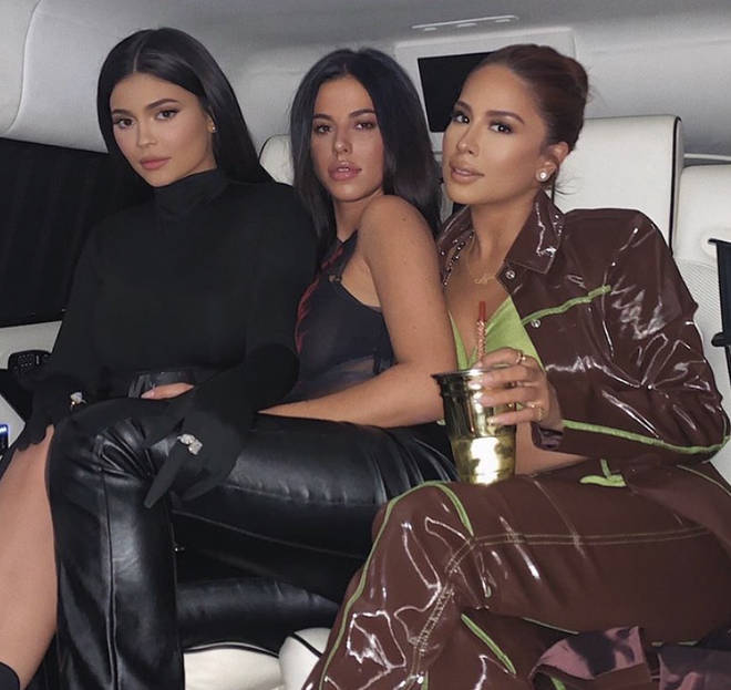 Victoria (pictured in the middle) used to be Kylie Jenner's assistant