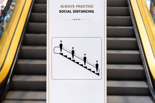 Social distance measurements will be in place across all shops