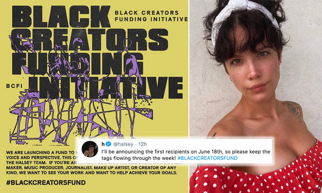 Halsey starts a Black Creators Fund to raise voice of Black artists and is funding it herself