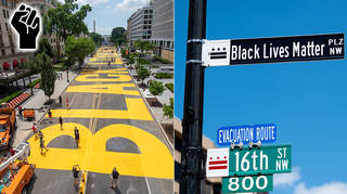 The BLM Plaza was officially named on June 5