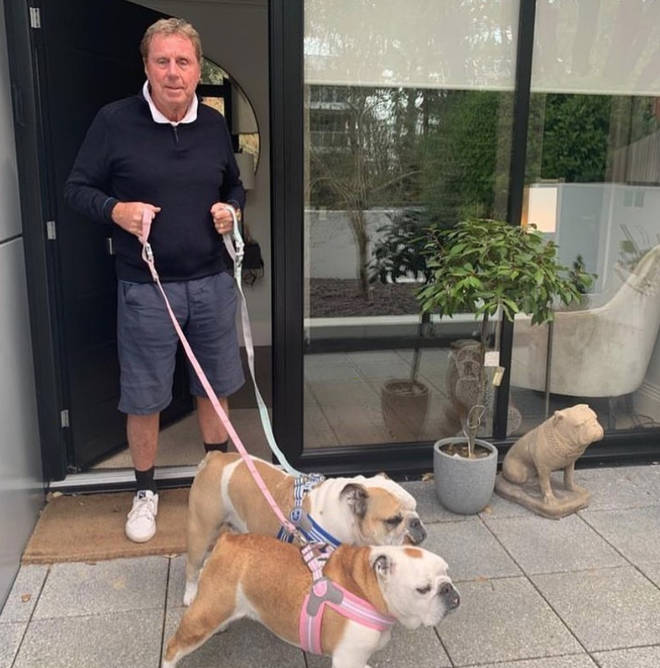 Harry Redknapp rarely shares a glimpse inside his mansion on social media