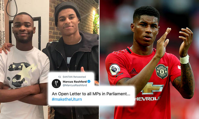 Marcus Rashford has called for free school meals to be extended