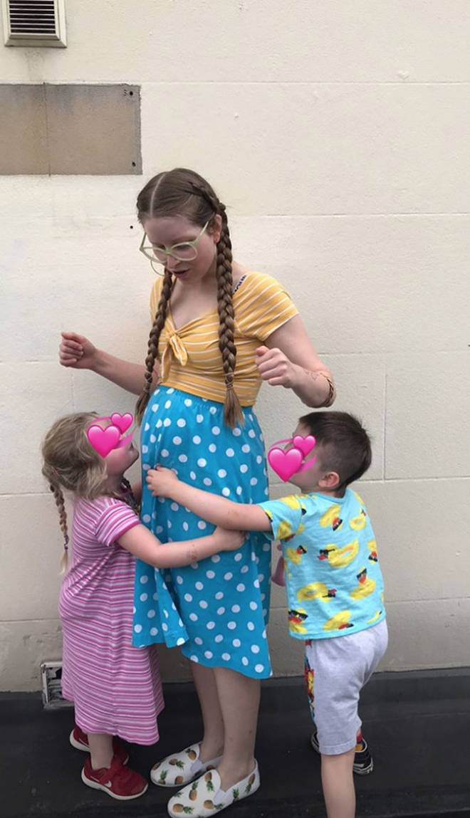Jessie Cave is pregnant with her third child