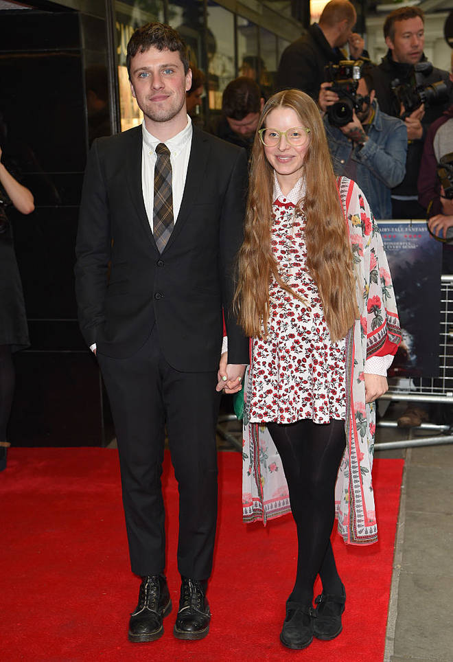 Jessie Cave and Alfie Brown met in 2012 - a few years before they began dating