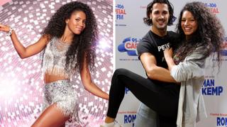 Vick Hope and Graziano Di Prima on Strictly Come Dancing