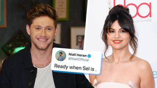 Niall Horan responded to a fan asking for a collaboration with Selena Gomez