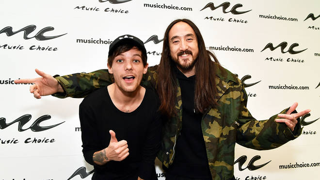 Steve Aoki spoke out about the amazing relationship Louis Tomlinson has with his son.