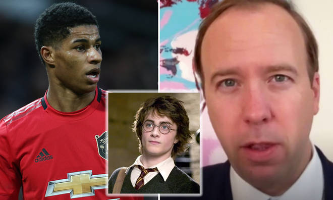 Matt Hancock explains why he called Marcus Rashford 'Daniel' on live TV