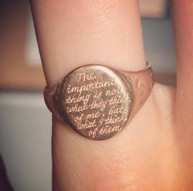 Jodie Comer wore this ring while filming Killing Eve
