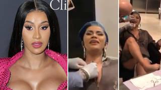 Cardi B has three new piercings