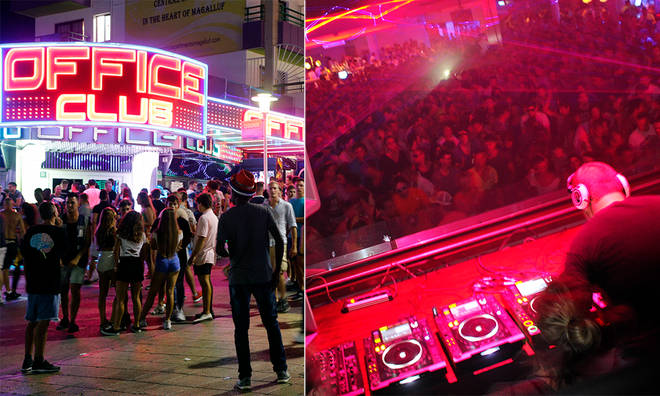 The clubbing scene is set to be empty in Ibiza this year