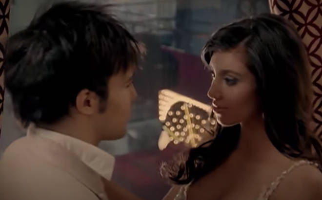 Kim Kardashian was a video girl in Fall Out Boy's 'Thnks fr th Mmrs'