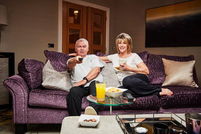 Ruth Langsford and Eamon Holmes on Celebrity Gogglebox