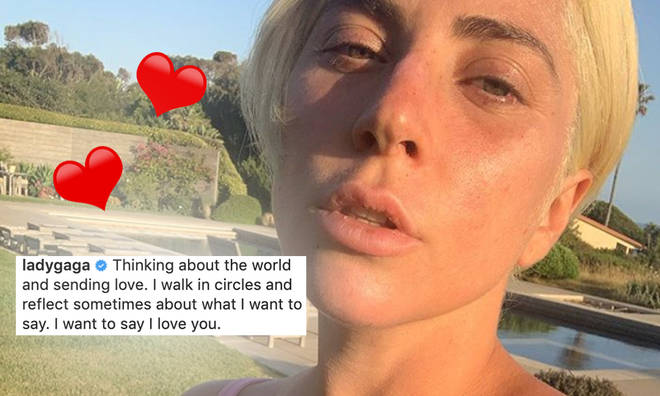 Lady Gaga is so beautiful without make-up.