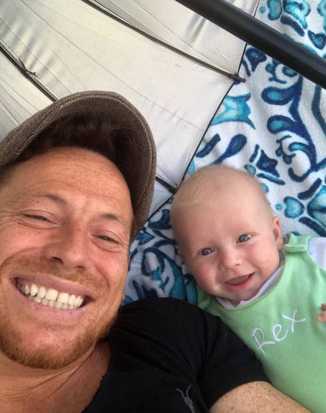 Joe Swash and Stacey Solomon welcomed baby Rex in May 2019