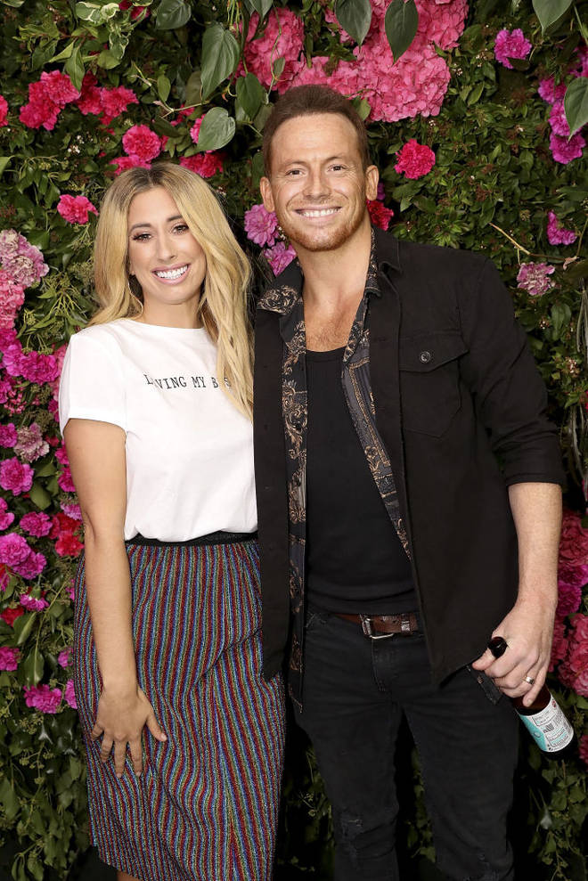 Joe Swash has been with Stacey Solomon since 2015