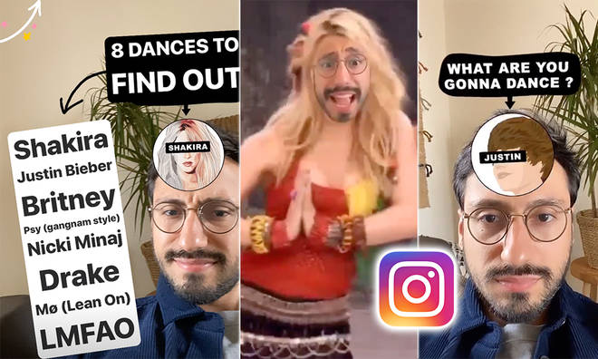 The latest Instagram filter turns you into your favourite celebrity
