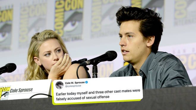 Cole Sprouse was accused of sexual assault by an anonymous Twitter user