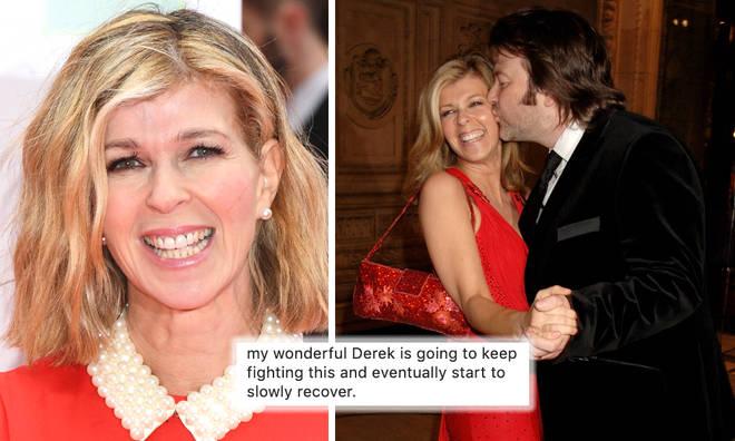 Kate Garraway's emotional Father's Day message to husband Derek Draper