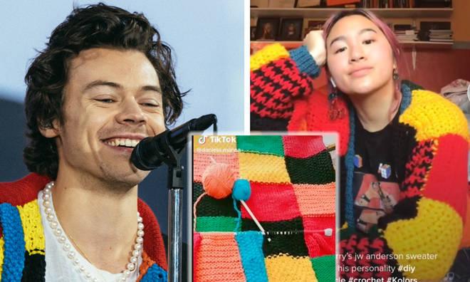 Harry Styles's cardigan inspires crocheting trend on TikTok