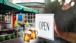 Pubs could re-open from 4 July
