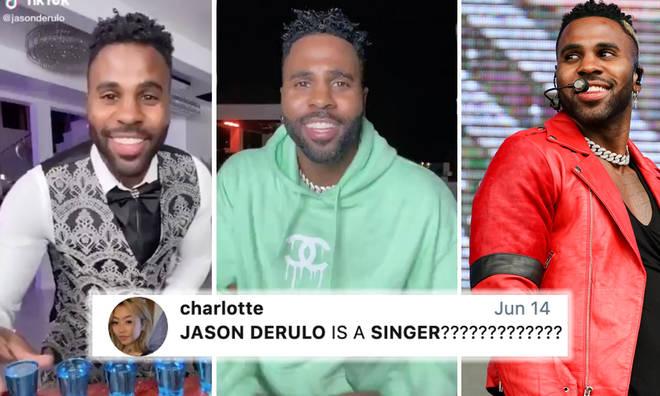 People don't know Jason Derulo is a pop star thanks to TikTok