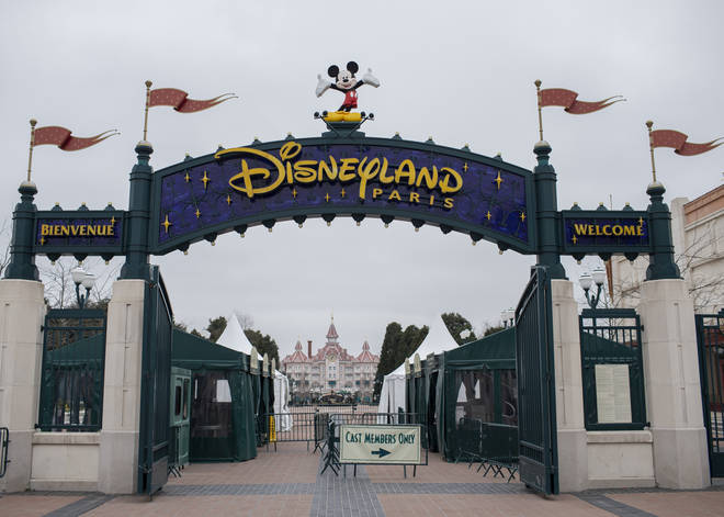 Disneyland Paris was forced to close back in March.