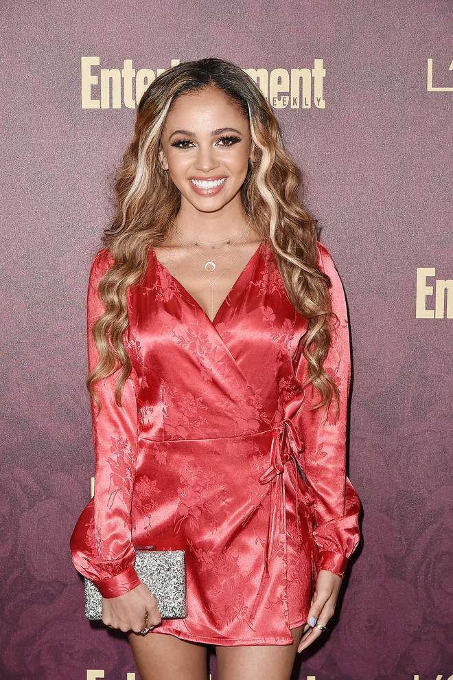 Vanessa Morgan's name was also included in one of the now-retracted allegations