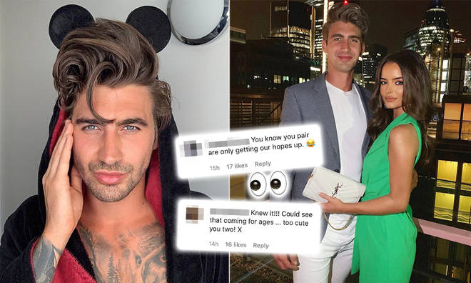 Love Island's Chris Taylor and Maura Higgins have caused a stir with fans