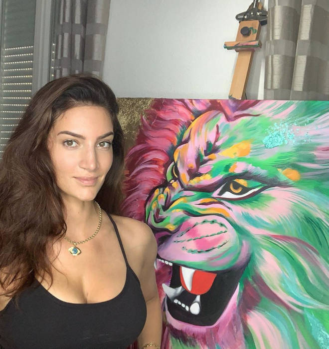 Sophie Brussaux now works as an artist