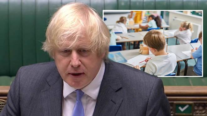 Boris Johnson announced schools will reopen in England in September