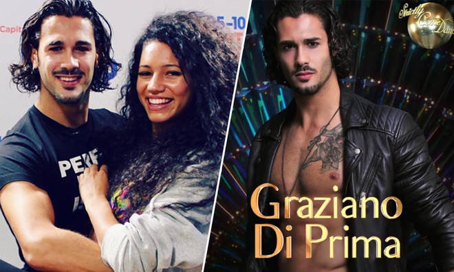 Vick Hope's 'Strictly Come Dancing' Partner Graziano Di Palma
