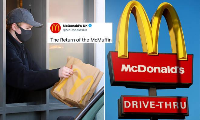 McDonald's breakfast menu is back!