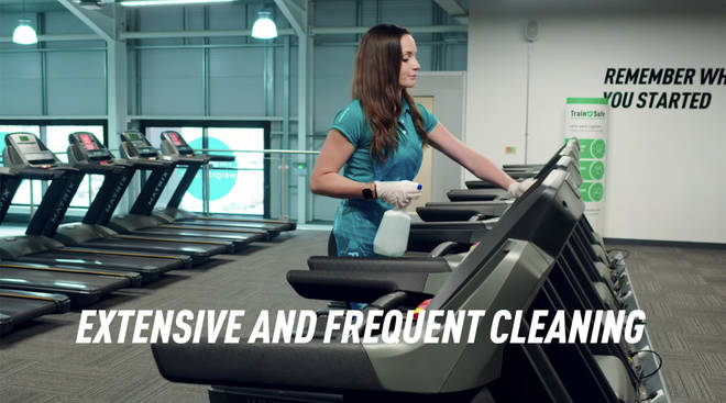 More cleaning measures have been put in place at gyms