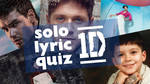 one direction solo lyric quiz