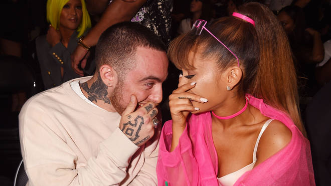 Mac Miller and Ariana Grande 2016 MTV Video Music Awards