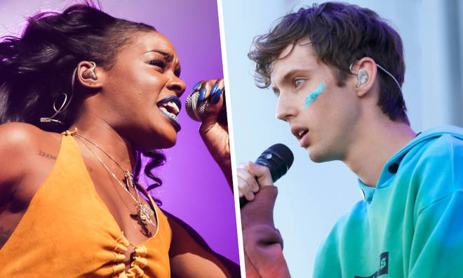 Azealia Banks and Troye Sivan On-Stage