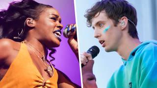 Azealia Banks and Troye Sivan On-Stage