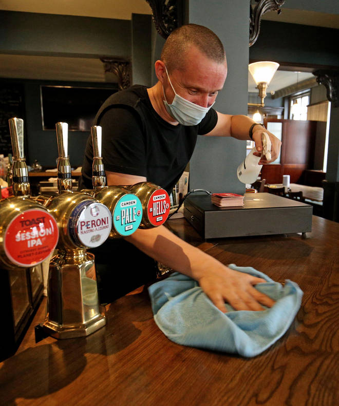New rules have been put in place for when pubs reopen on July 4