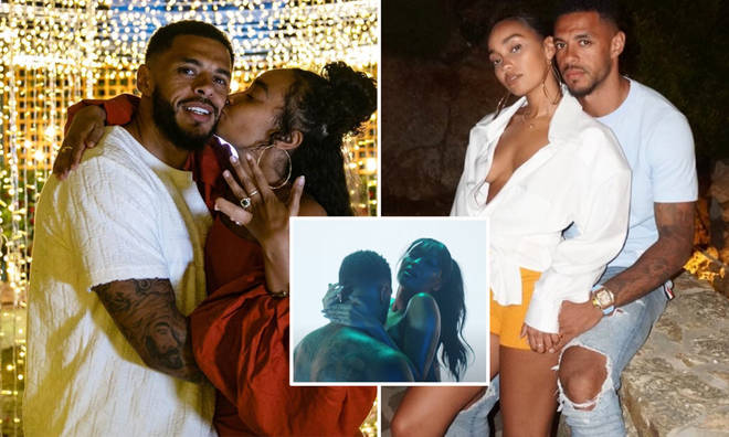 Leigh-Anne Pinnock posted a steamy throwback with Andre Gray