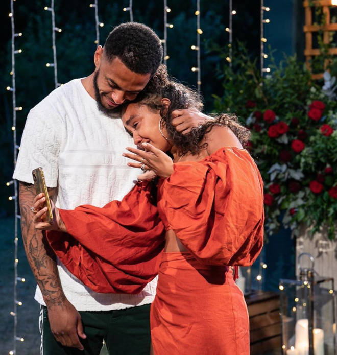 Leigh-Anne Pinnock and Andre Gray got engaged in May