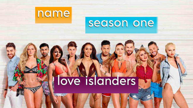 Take our trivia quiz about the first season of Love Island
