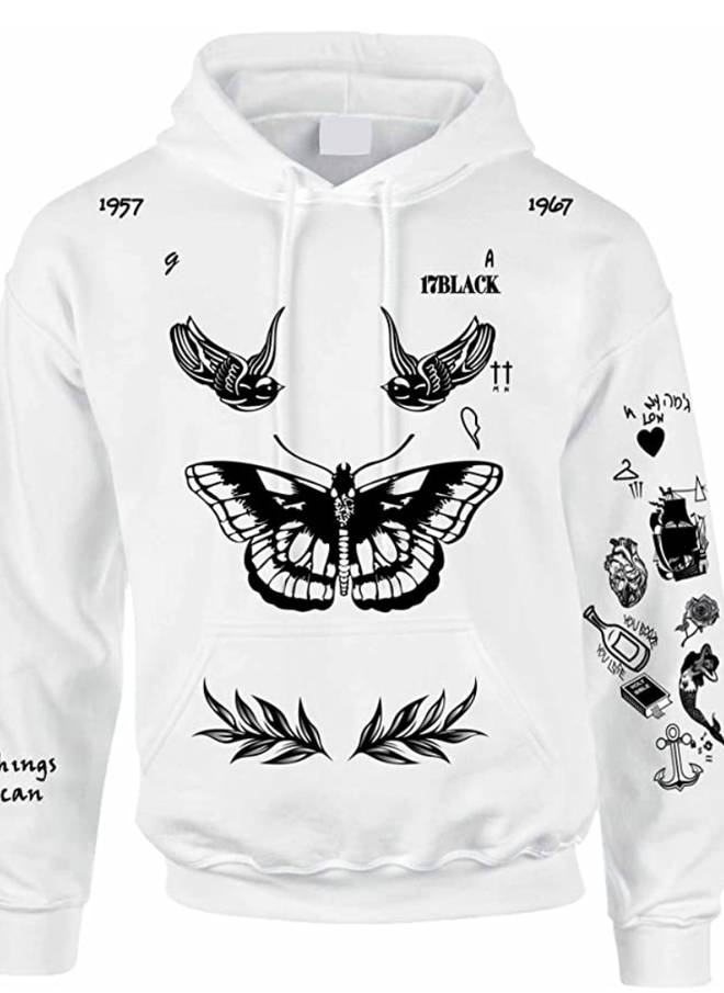 The original Harry Styles tattoo hoodie is sold out