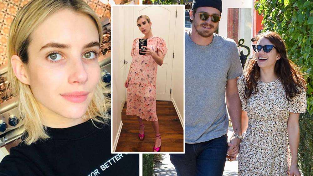 Emma Roberts Is Pregnant With Her Boyfriend Garrett Hedlund S First Child Capital