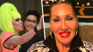 Michelle Visage spoke about how the LGBT community made her feel like she belonged